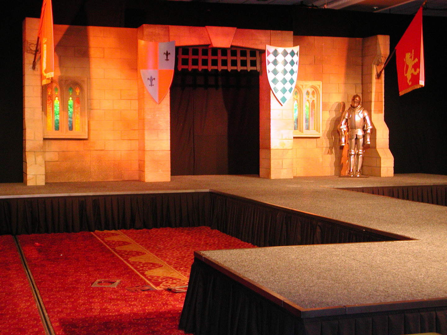 Medieval Archway Stage Set - Prop Hire - Staging Services