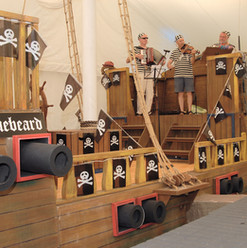 Performers on The Galleon