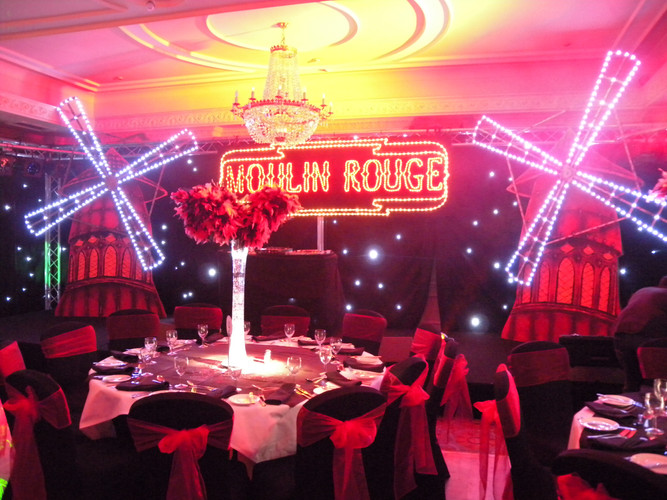 Moulin Rouge Windmill Prop Hire - Staging Services
