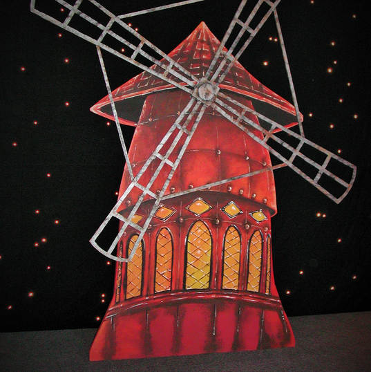 Moulin Rouge Event Backdrop