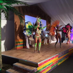 Caribbean Style Stage