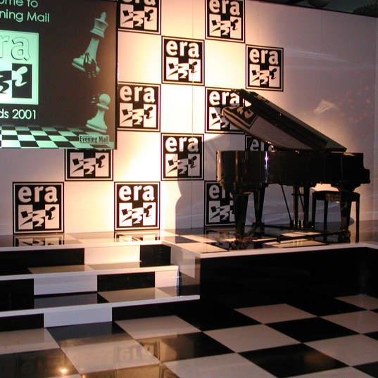 B&W Floor & Piano