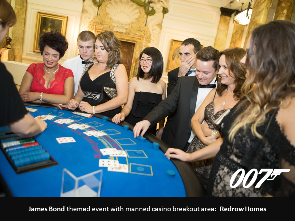 James Bond Themed Casino