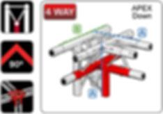 EVENT-DECK 1m x 1m Stage Deck