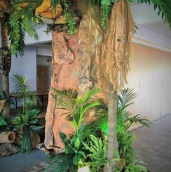 Entrance Feature Jungle Themes & Props