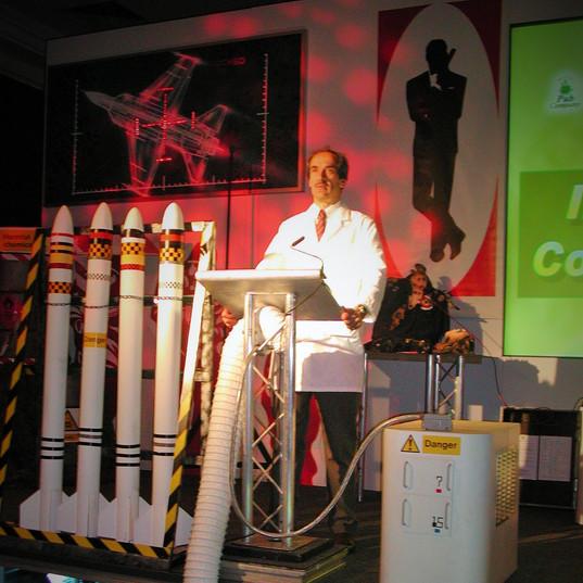 James Bond Themed Conference Stage & Set
