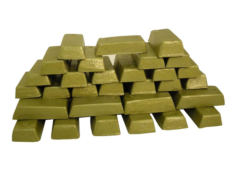 Gold Bullion Prop Hire - Staging Services