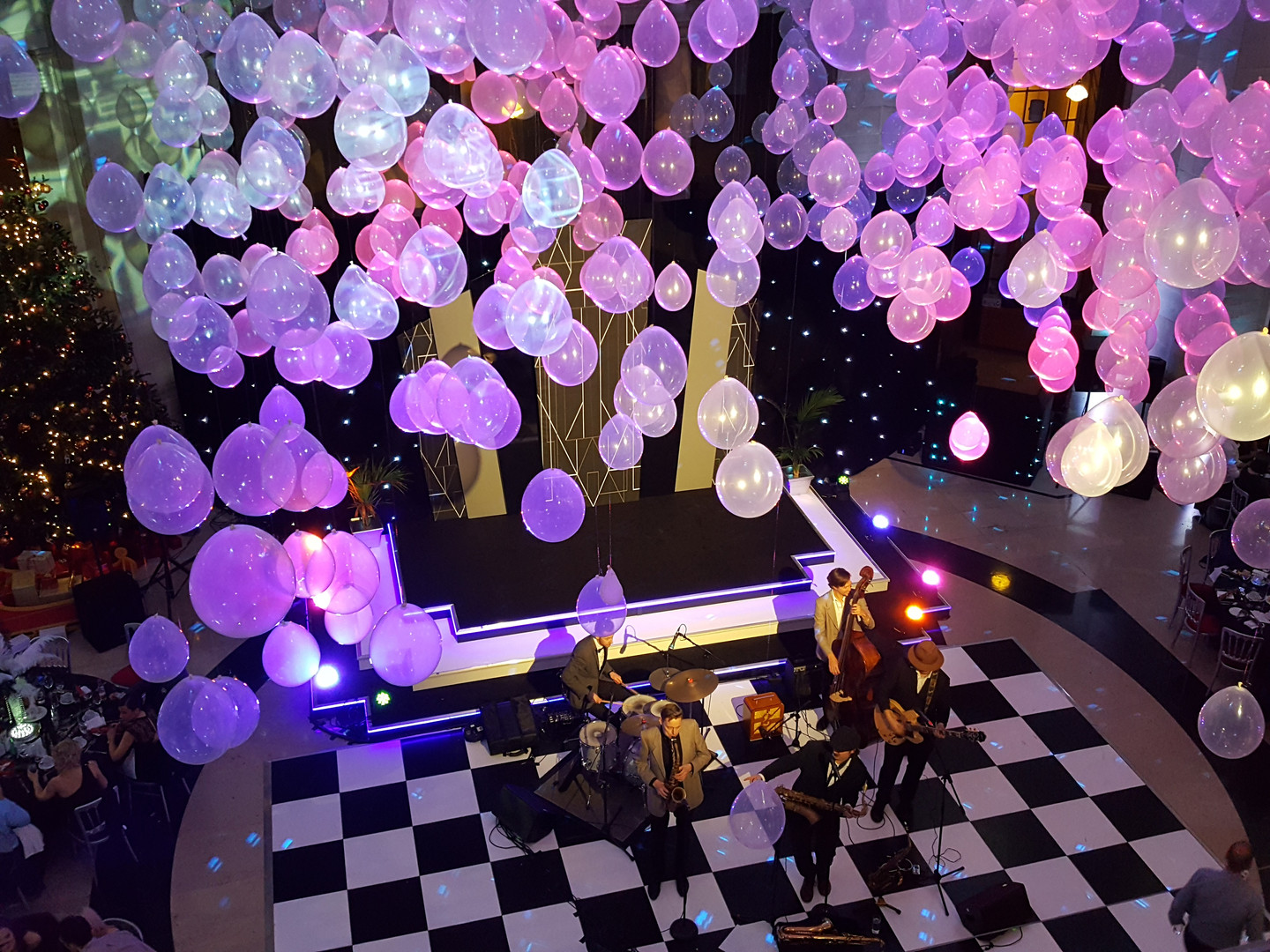 Balloon Drop Hire - Staging Services