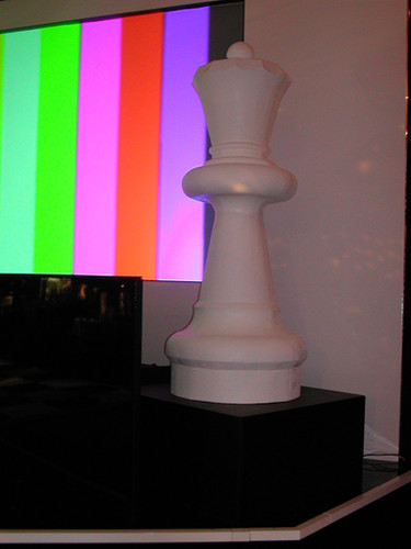 Giant Queen Chess Piece Hire -Staging Services