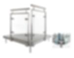 LED Glass Balustrade - Event-Deck