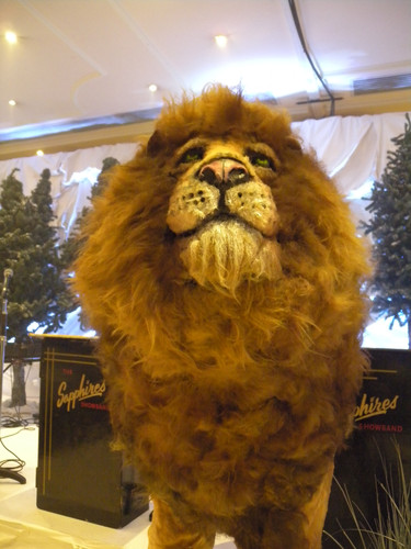 Narnia Lion Prop Hire - Staging Services