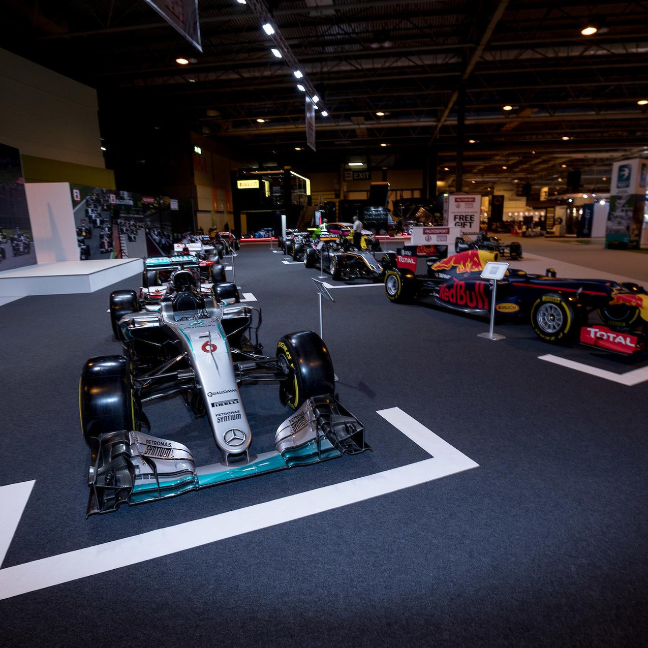 Staging Services stage at Autosport - picture by Autosport