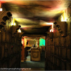 Egyptian Themed Entrance Feature