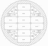 7m Diameter circular stage