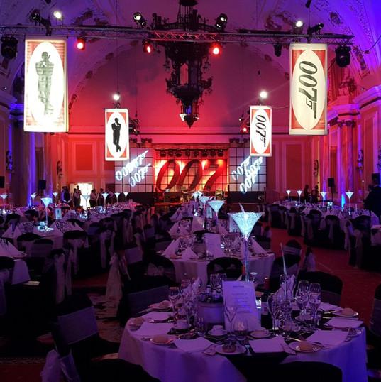 ames Bond Themed Event Dinner