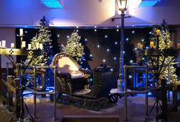 Christmas Santa Sleigh For Hire - Staging Services