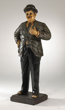 Oliver Hardy Statue