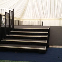 Stage with Disabilty Ramp