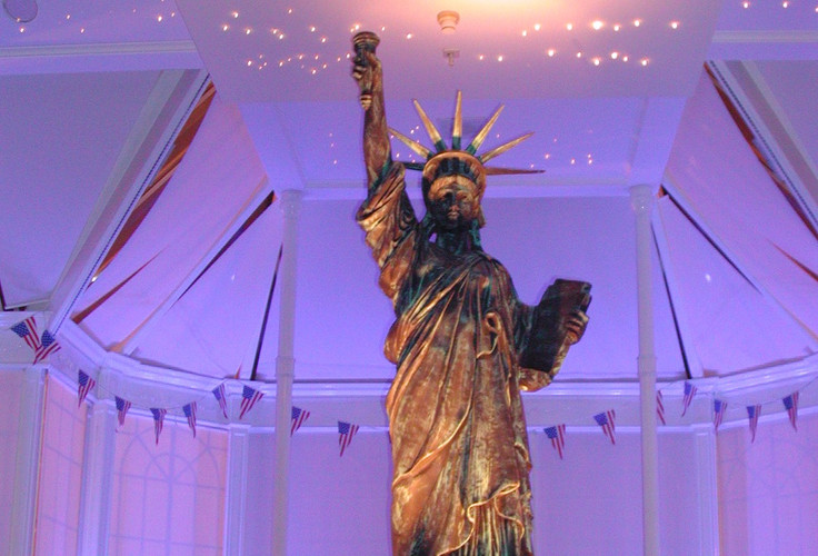 Statue of Liberty Staging Services