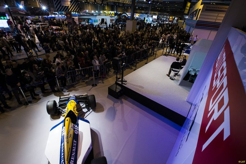 Autosport stage by Staging Services
