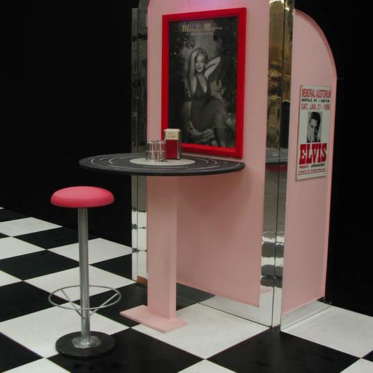 Rock'n'Roll - Memorabilia Display