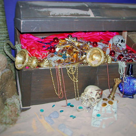 Buried Treasure Props - Event Theming