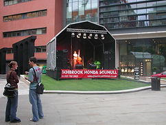 6m x 3m Stage Canopy Hire
