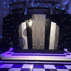 Great Gatsby Stage & Stage Set
