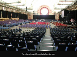Convention Tiered Seating