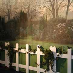 Garden Party Picket Fence Hire