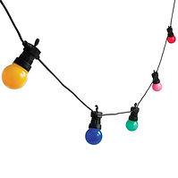 Coloured Festoon Lighting For HIre