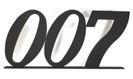 007 3D Letters James bond Prop hire - staging services