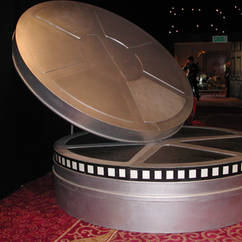 Giant Film Can