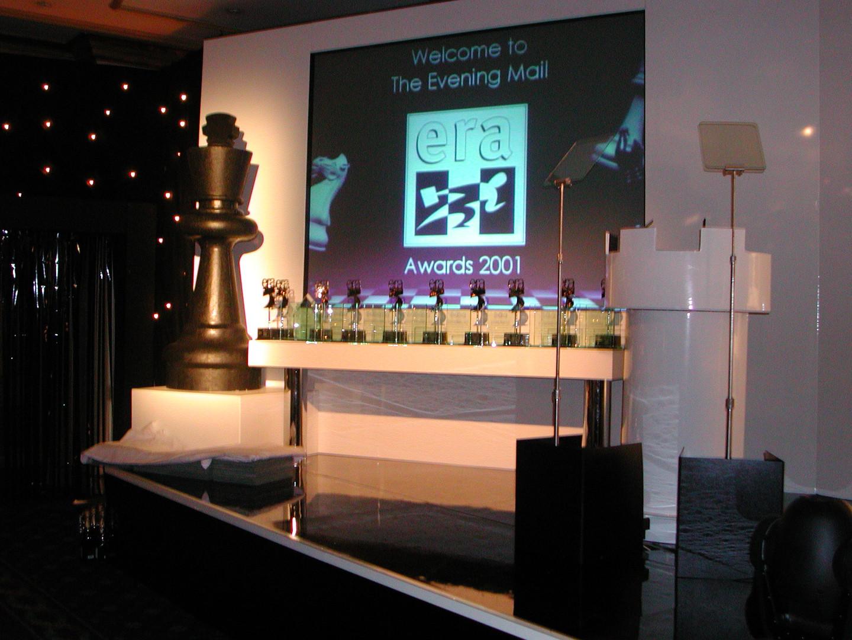 Awards Table & White Lectern.JPG