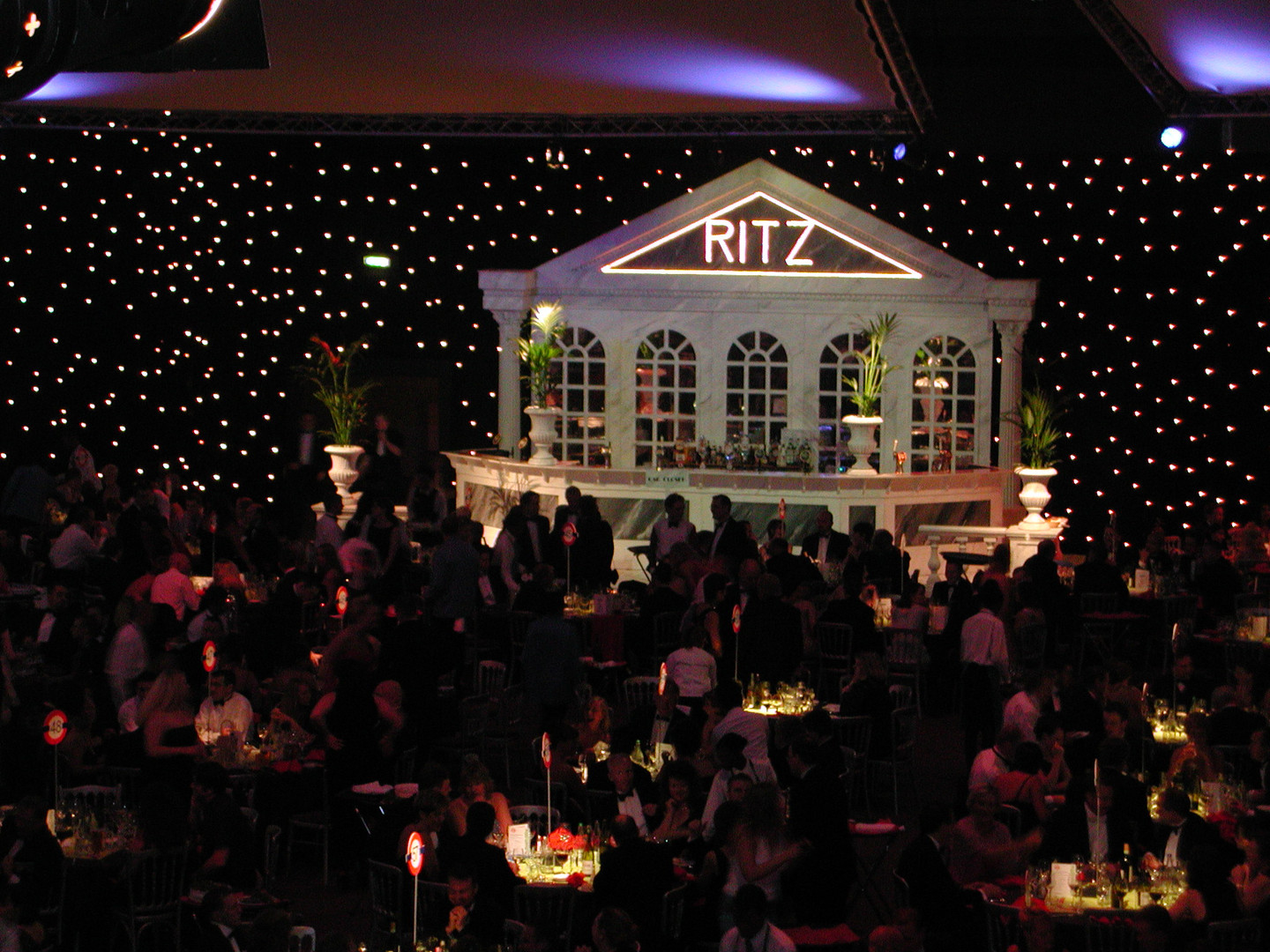 Ritz Hotel Entrance Prop Hire - Staging Services