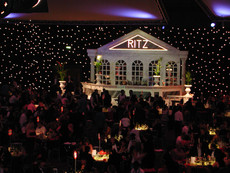 Masquerade Ball Hotel Entrance Prop Hire - Staging Services