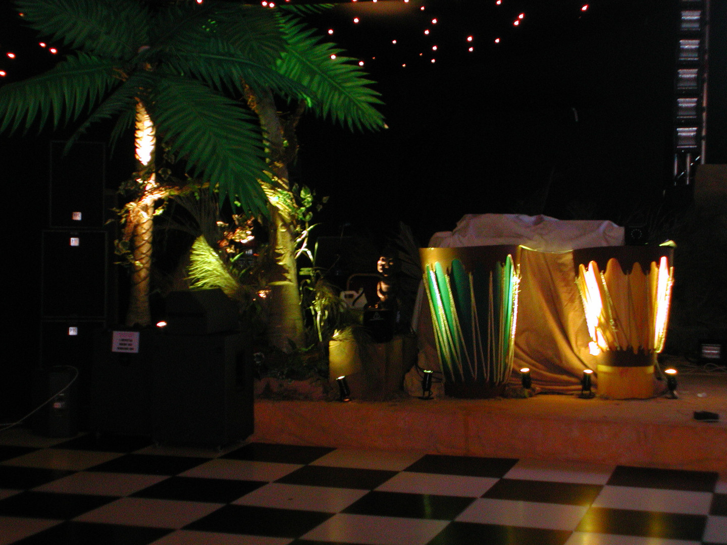 jungle prop hire - staging services