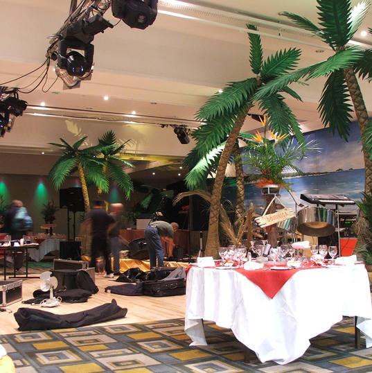 Caribbean Theme Set Up