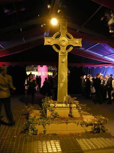 Giant Celtic Cross Prop Hire - Staging Services