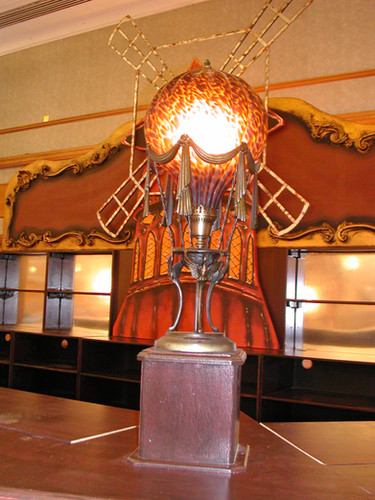 Ornate Bar Top Lamp - Moulin Rouge - Staging Services