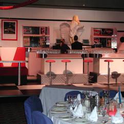 American Diner Drinks Bar