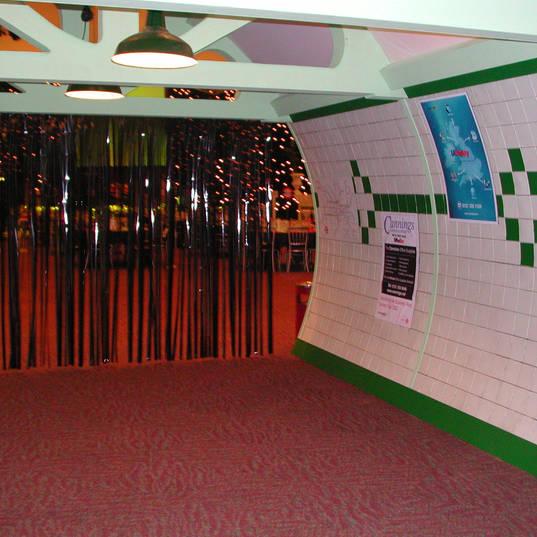 London Underground Entrance Feature