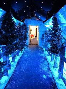 Winter Entrance Feature