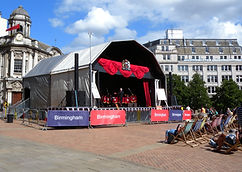 10m x 7.5m Stage Canopy Hire