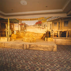 Country & Western Stage & Set