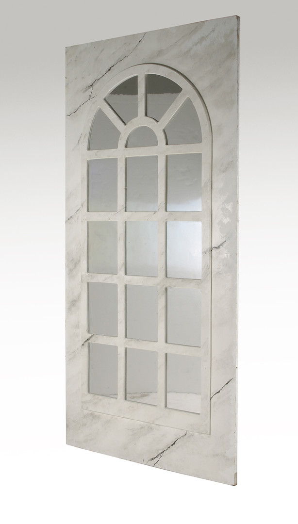 Marble Grained Mirrored Panel - Staging Services