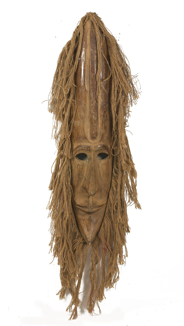 Africa Carved face mask - prop hire - staging services