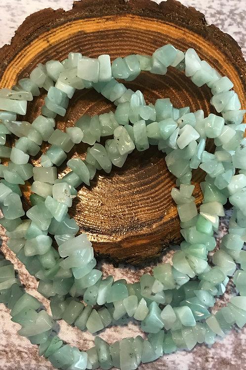 Long Amazonite Necklace