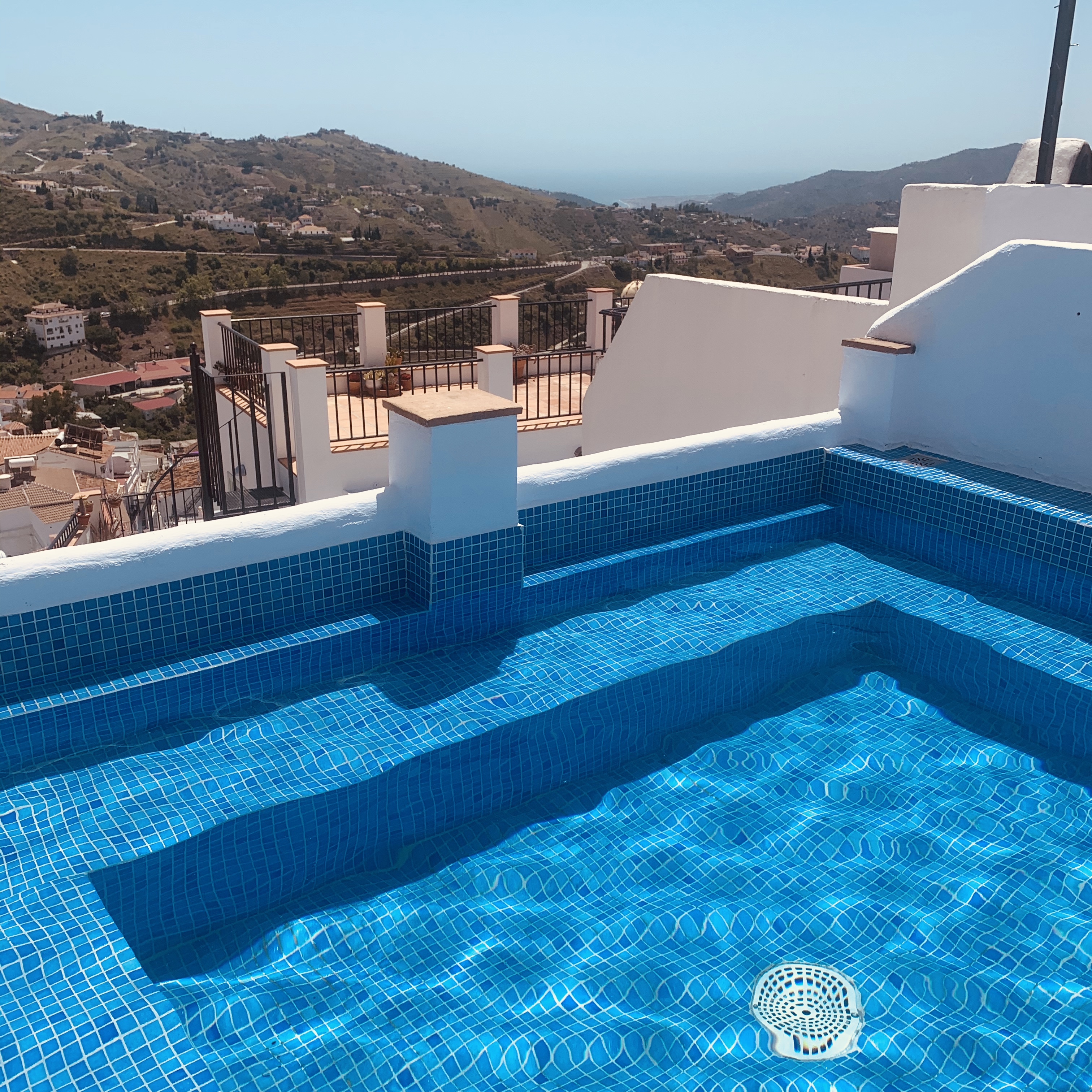Pool - with sea and mountain views