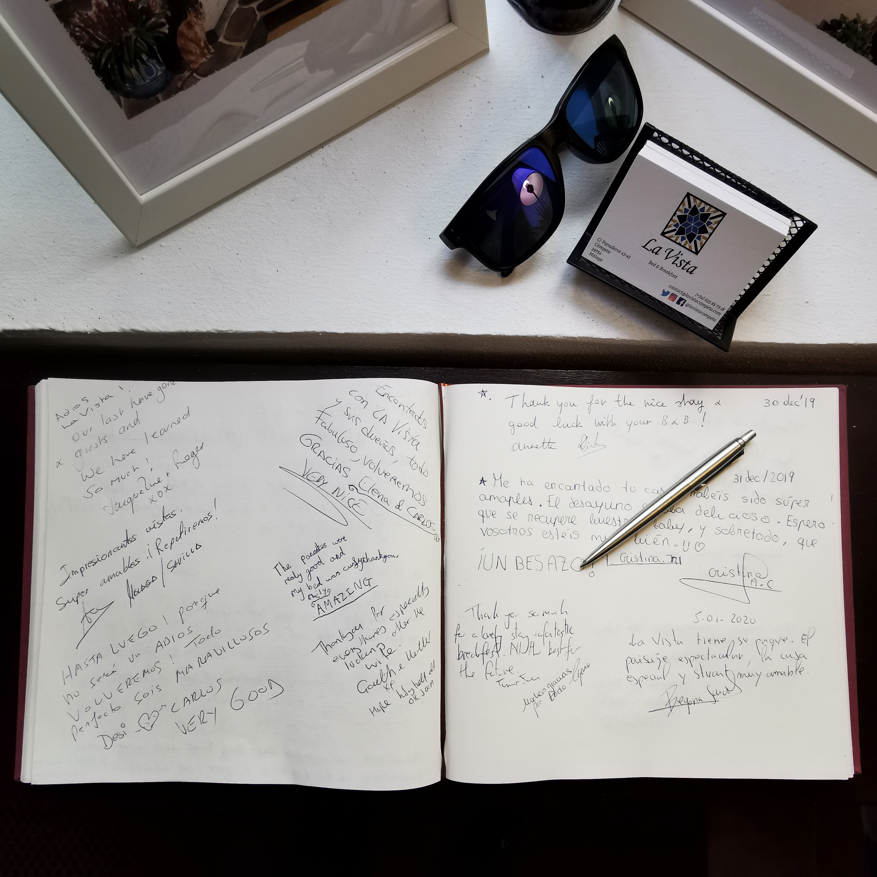 Our guest book